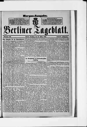 Berliner Tageblatt und Handels-Zeitung vom 12.03.1895