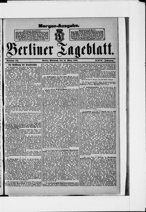 Berliner Tageblatt und Handels-Zeitung vom 13.03.1895