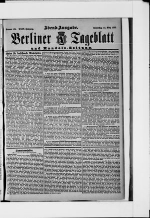 Berliner Tageblatt und Handels-Zeitung vom 14.03.1895