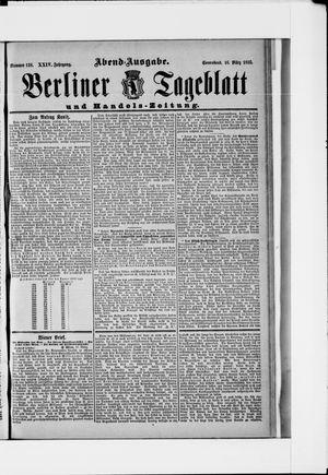 Berliner Tageblatt und Handels-Zeitung vom 16.03.1895