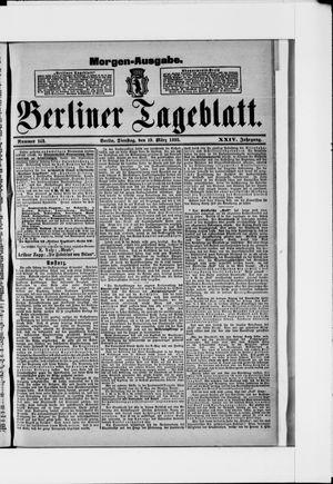 Berliner Tageblatt und Handels-Zeitung on Mar 19, 1895