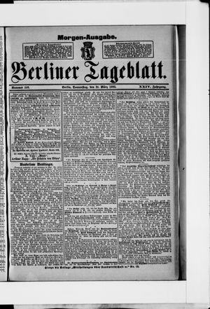 Berliner Tageblatt und Handels-Zeitung vom 21.03.1895