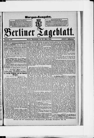 Berliner Tageblatt und Handels-Zeitung vom 23.03.1895