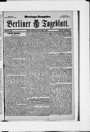 Berliner Tageblatt und Handels-Zeitung vom 25.03.1895