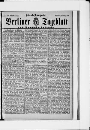 Berliner Tageblatt und Handels-Zeitung vom 28.03.1895