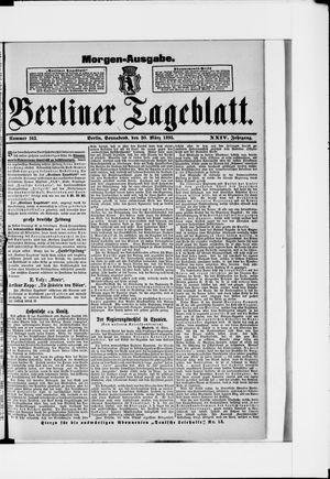 Berliner Tageblatt und Handels-Zeitung vom 30.03.1895
