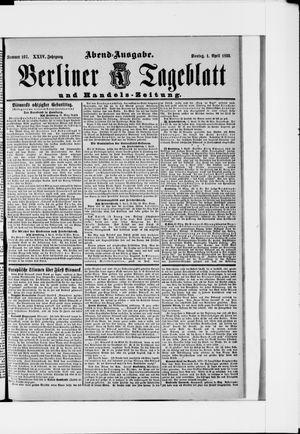 Berliner Tageblatt und Handels-Zeitung vom 01.04.1895