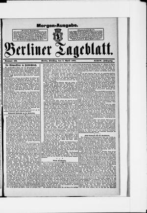 Berliner Tageblatt und Handels-Zeitung vom 02.04.1895
