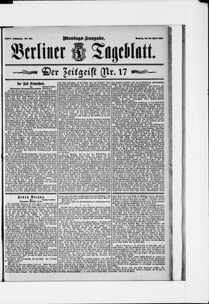 Berliner Tageblatt und Handels-Zeitung vom 29.04.1895