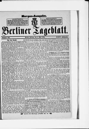 Berliner Tageblatt und Handels-Zeitung vom 03.05.1895