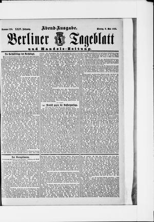 Berliner Tageblatt und Handels-Zeitung vom 06.05.1895