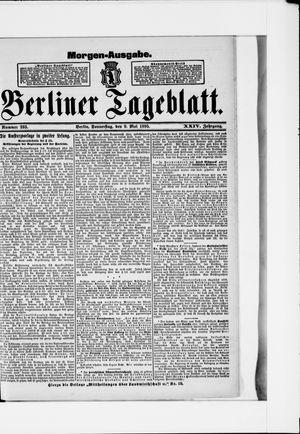Berliner Tageblatt und Handels-Zeitung vom 09.05.1895