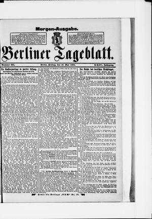Berliner Tageblatt und Handels-Zeitung on May 10, 1895