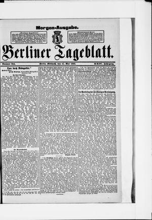 Berliner Tageblatt und Handels-Zeitung vom 15.05.1895