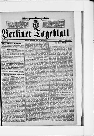 Berliner Tageblatt und Handels-Zeitung vom 21.05.1895