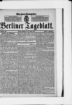 Berliner Tageblatt und Handels-Zeitung vom 28.05.1895