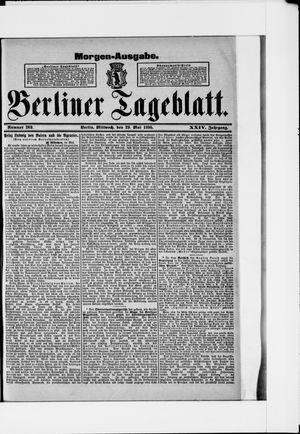 Berliner Tageblatt und Handels-Zeitung vom 29.05.1895
