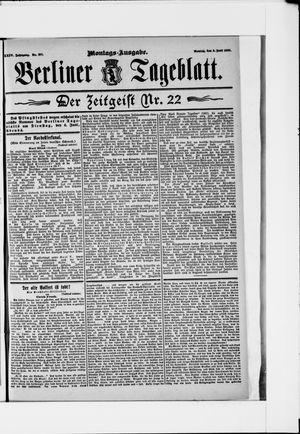 Berliner Tageblatt und Handels-Zeitung vom 03.06.1895