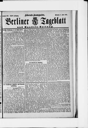 Berliner Tageblatt und Handels-Zeitung vom 05.06.1895