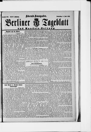 Berliner Tageblatt und Handels-Zeitung vom 06.06.1895