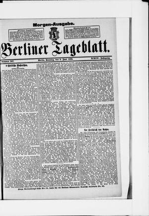 Berliner Tageblatt und Handels-Zeitung vom 09.06.1895