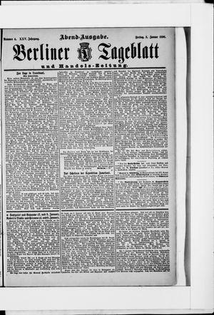 Berliner Tageblatt und Handels-Zeitung on Jan 3, 1896