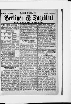Berliner Tageblatt und Handels-Zeitung vom 04.01.1896