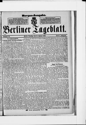 Berliner Tageblatt und Handels-Zeitung vom 14.01.1896