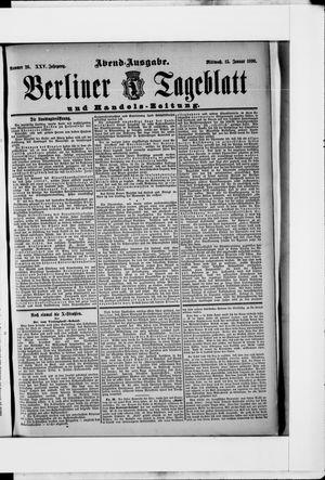 Berliner Tageblatt und Handels-Zeitung vom 15.01.1896