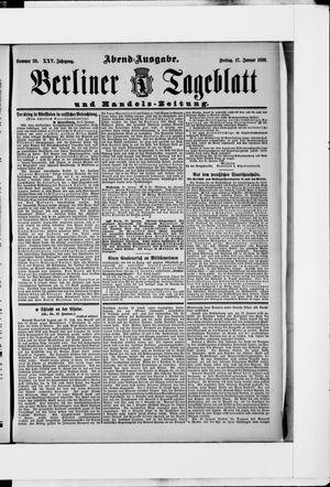 Berliner Tageblatt und Handels-Zeitung vom 17.01.1896