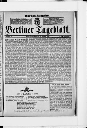 Berliner Tageblatt und Handels-Zeitung vom 18.01.1896