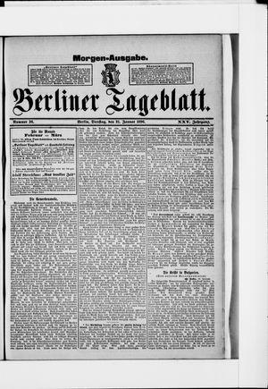 Berliner Tageblatt und Handels-Zeitung vom 21.01.1896