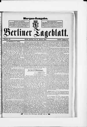 Berliner Tageblatt und Handels-Zeitung vom 24.01.1896