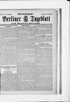 Berliner Tageblatt und Handels-Zeitung on Jan 28, 1896
