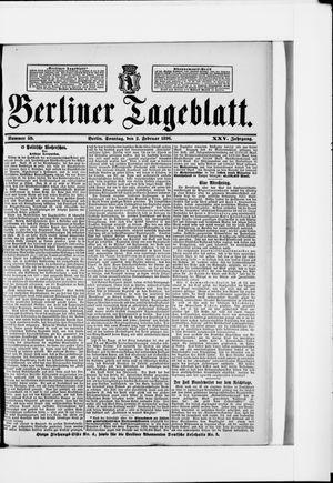 Berliner Tageblatt und Handels-Zeitung vom 02.02.1896