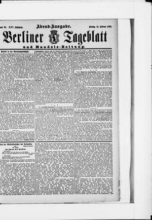 Berliner Tageblatt und Handels-Zeitung vom 21.02.1896