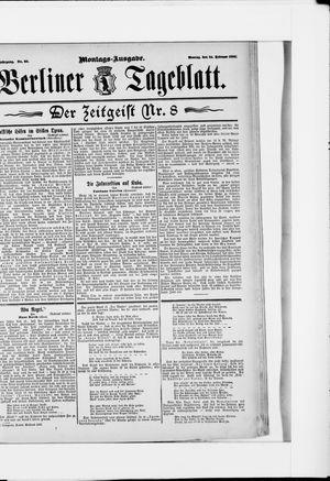 Berliner Tageblatt und Handels-Zeitung on Feb 23, 1896