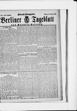 Berliner Tageblatt und Handels-Zeitung vom 24.02.1896