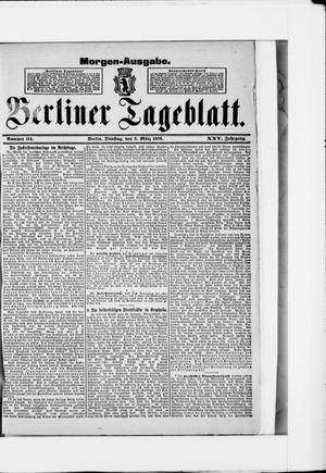Berliner Tageblatt und Handels-Zeitung vom 03.03.1896
