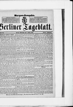 Berliner Tageblatt und Handels-Zeitung vom 04.03.1896