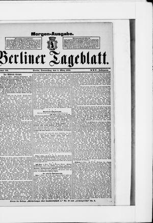 Berliner Tageblatt und Handels-Zeitung vom 05.03.1896
