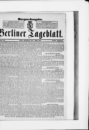 Berliner Tageblatt und Handels-Zeitung vom 07.03.1896