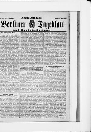 Berliner Tageblatt und Handels-Zeitung vom 09.03.1896