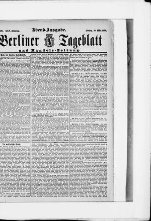 Berliner Tageblatt und Handels-Zeitung vom 10.03.1896