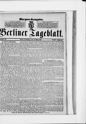 Berliner Tageblatt und Handels-Zeitung vom 12.03.1896