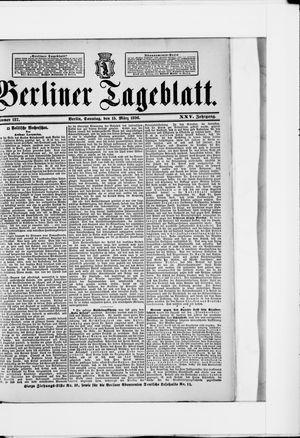 Berliner Tageblatt und Handels-Zeitung vom 15.03.1896