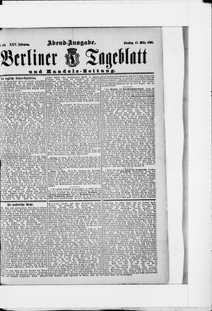 Berliner Tageblatt und Handels-Zeitung vom 17.03.1896