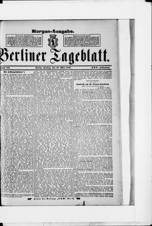 Berliner Tageblatt und Handels-Zeitung vom 20.03.1896