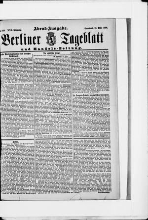 Berliner Tageblatt und Handels-Zeitung vom 21.03.1896