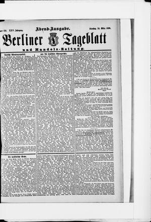 Berliner Tageblatt und Handels-Zeitung vom 24.03.1896